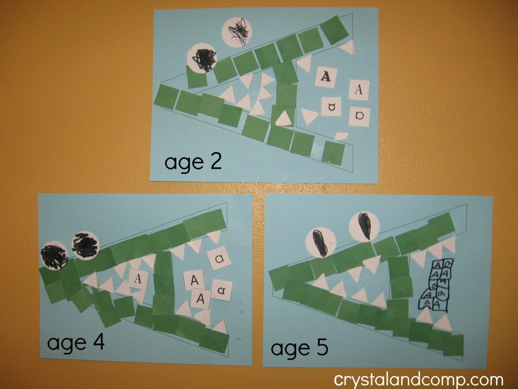 Best ideas about I Crafts For Preschoolers . Save or Pin Letter of the Week A is for Alligator Now.