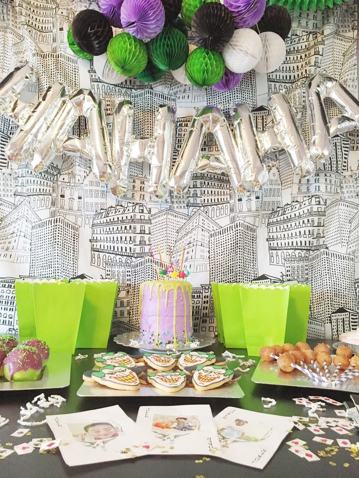 Best ideas about Idea For Kids Birthday Party . Save or Pin 1000 images about Suicide Squad Themed Party on Pinterest Now.