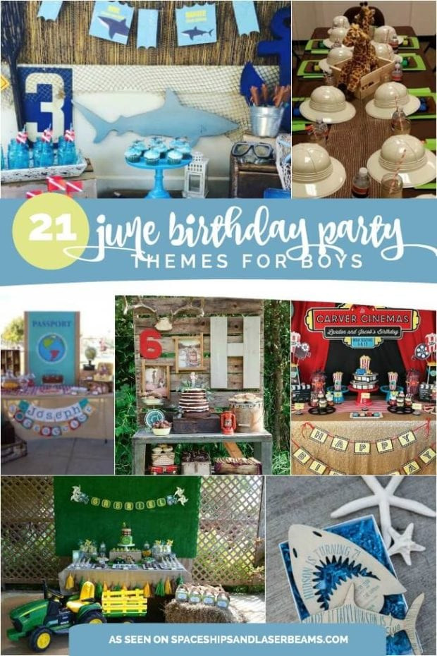Best ideas about Idea For Kids Birthday Party . Save or Pin 21 Fun June Birthday Party Ideas for Boys and Girls too Now.