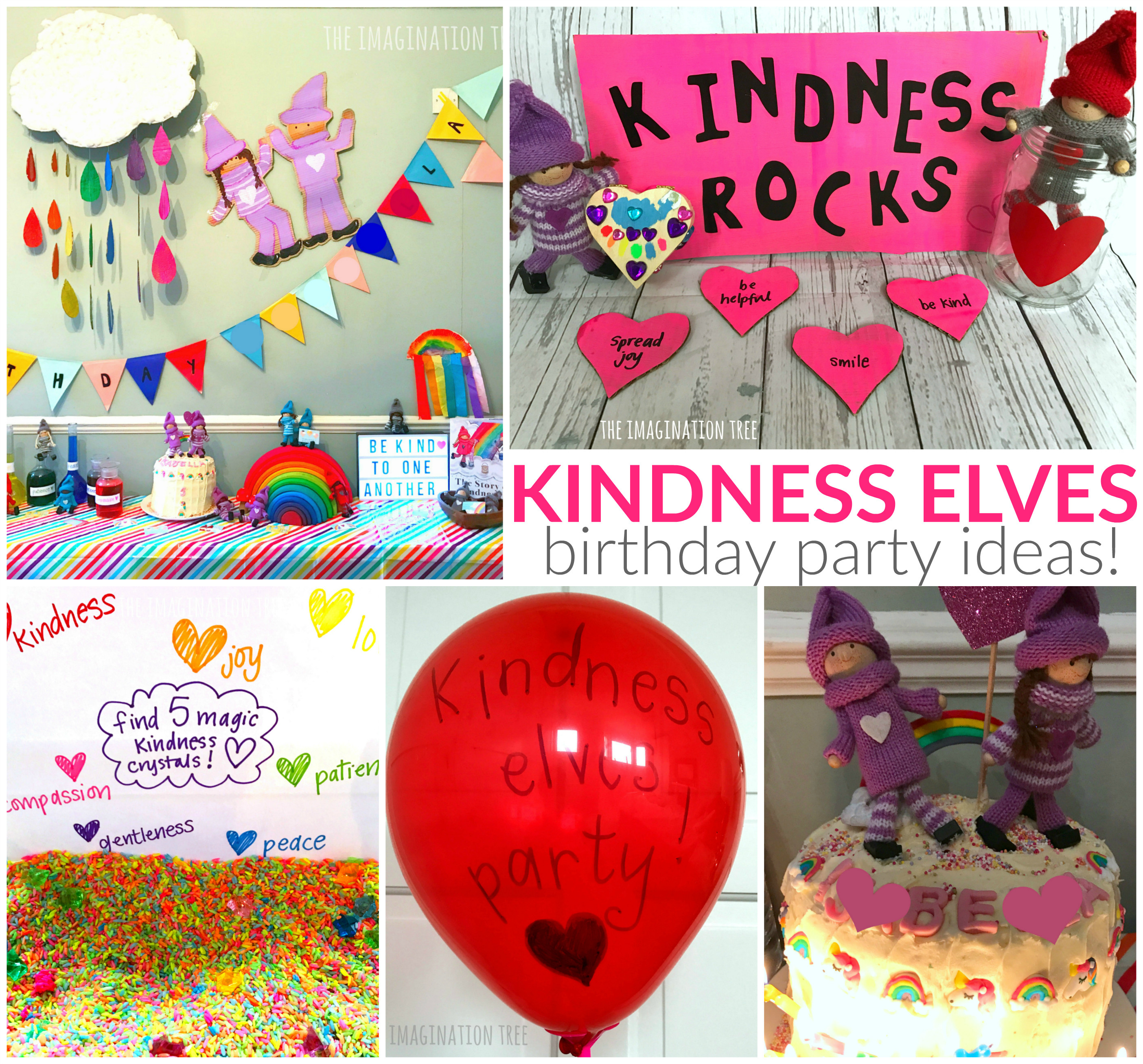 Best ideas about Idea For Kids Birthday Party . Save or Pin Kindness Elves Birthday Party Ideas The Imagination Tree Now.