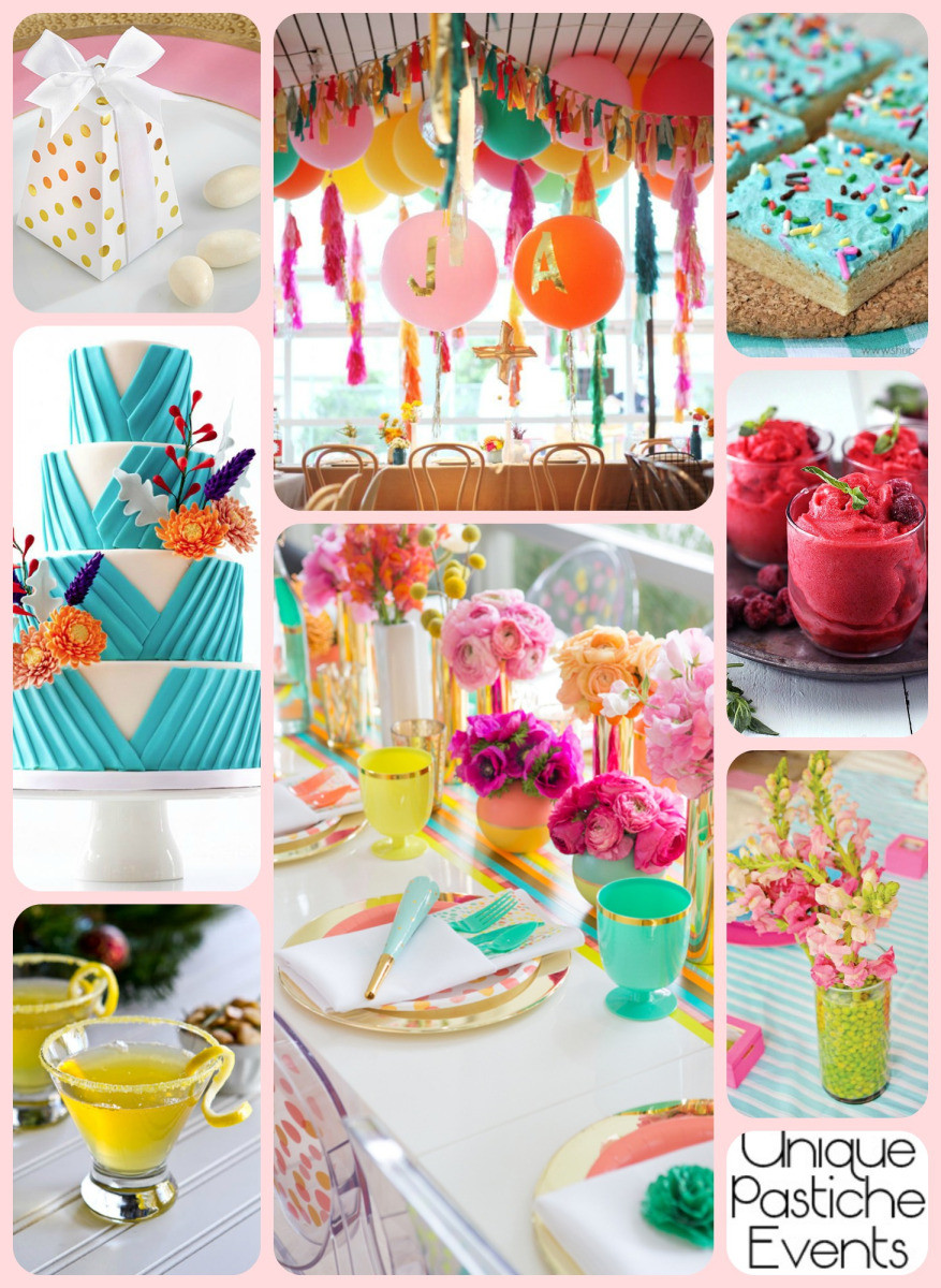 Best ideas about Idea For Kids Birthday Party . Save or Pin Vibrant Summer Birthday Party Idea for Her Now.