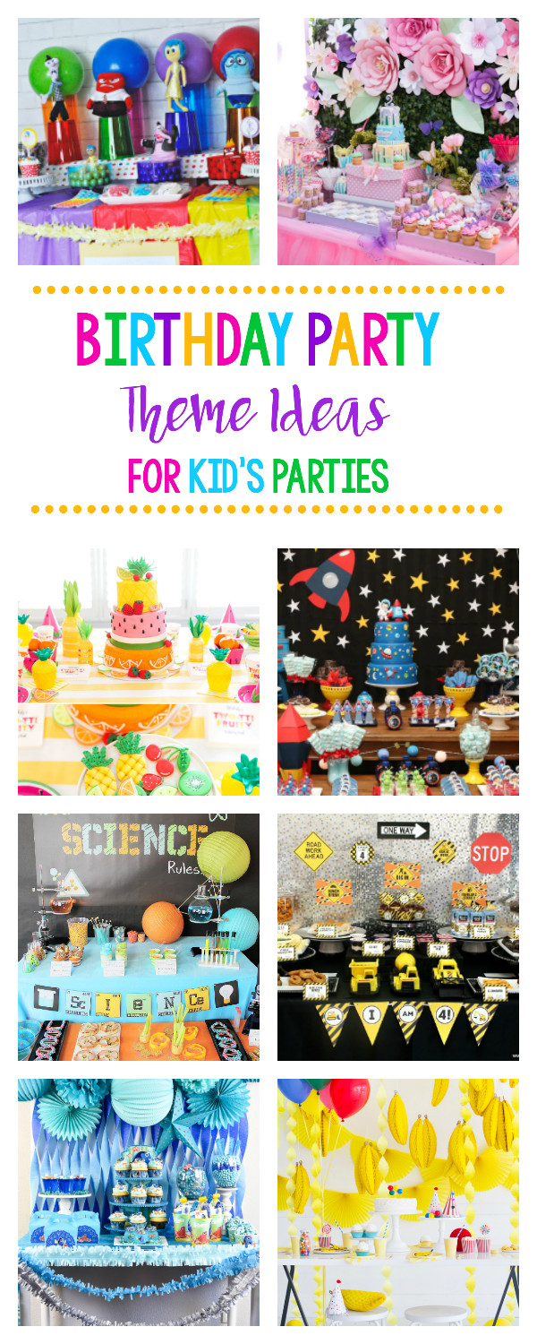 Best ideas about Idea For Kids Birthday Party . Save or Pin 25 Fun Birthday Party Theme Ideas – Fun Squared Now.