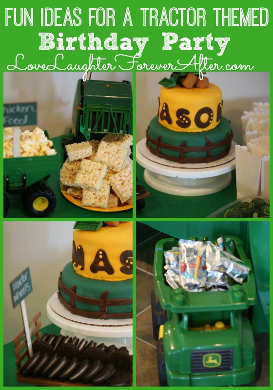 Best ideas about Idea For Kids Birthday Party . Save or Pin Fun Ideas For a Tractor Themed Birthday Party Now.