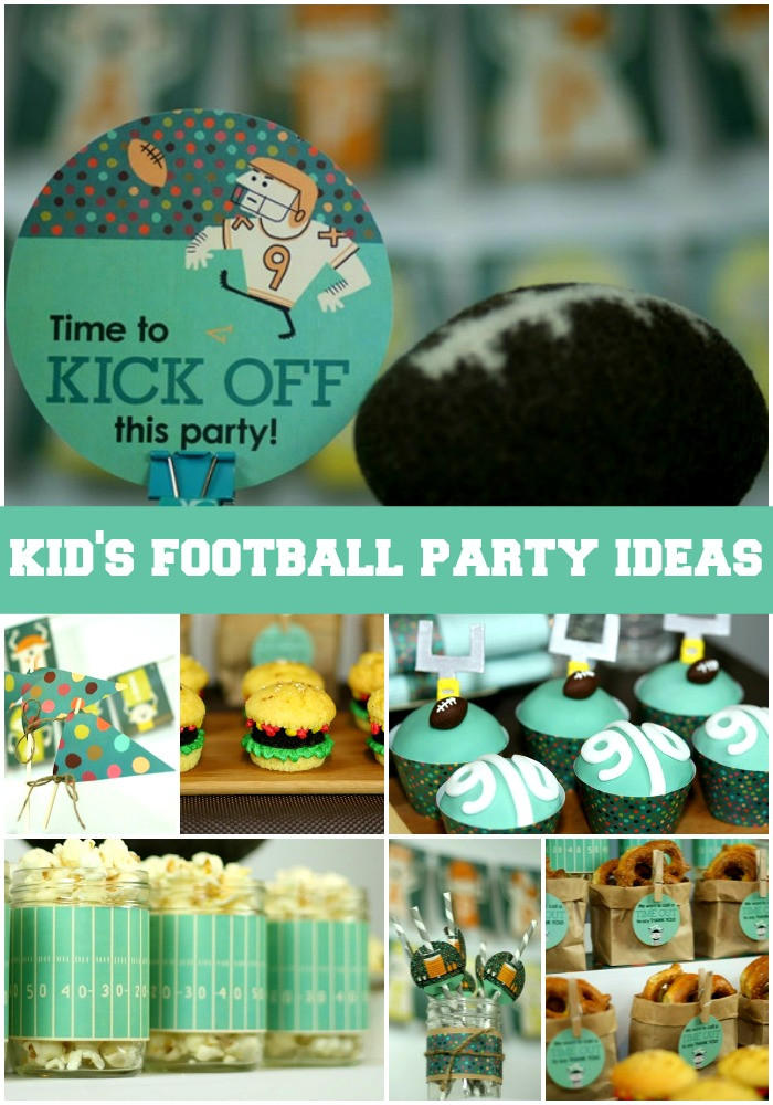 Best ideas about Idea For Kids Birthday Party . Save or Pin Kids Football Party Ideas Now.