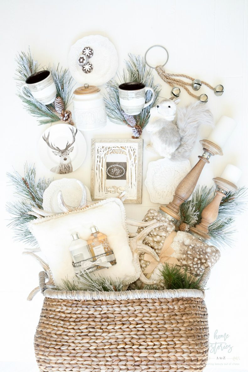 Best ideas about Ideas For Gift Baskets . Save or Pin Creative and Luxe Holiday Gift Basket Ideas with Pier 1 Now.
