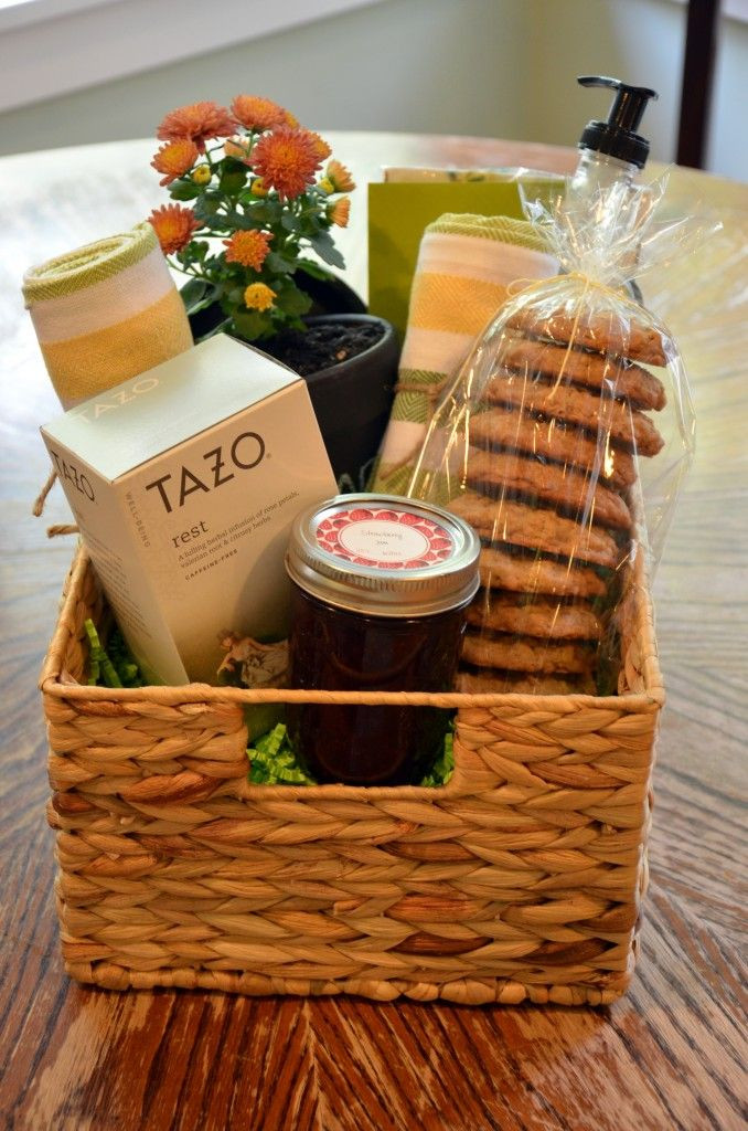 Best ideas about Ideas For Gift Baskets . Save or Pin New neighbor t basket Gift Ideas Pinterest Now.