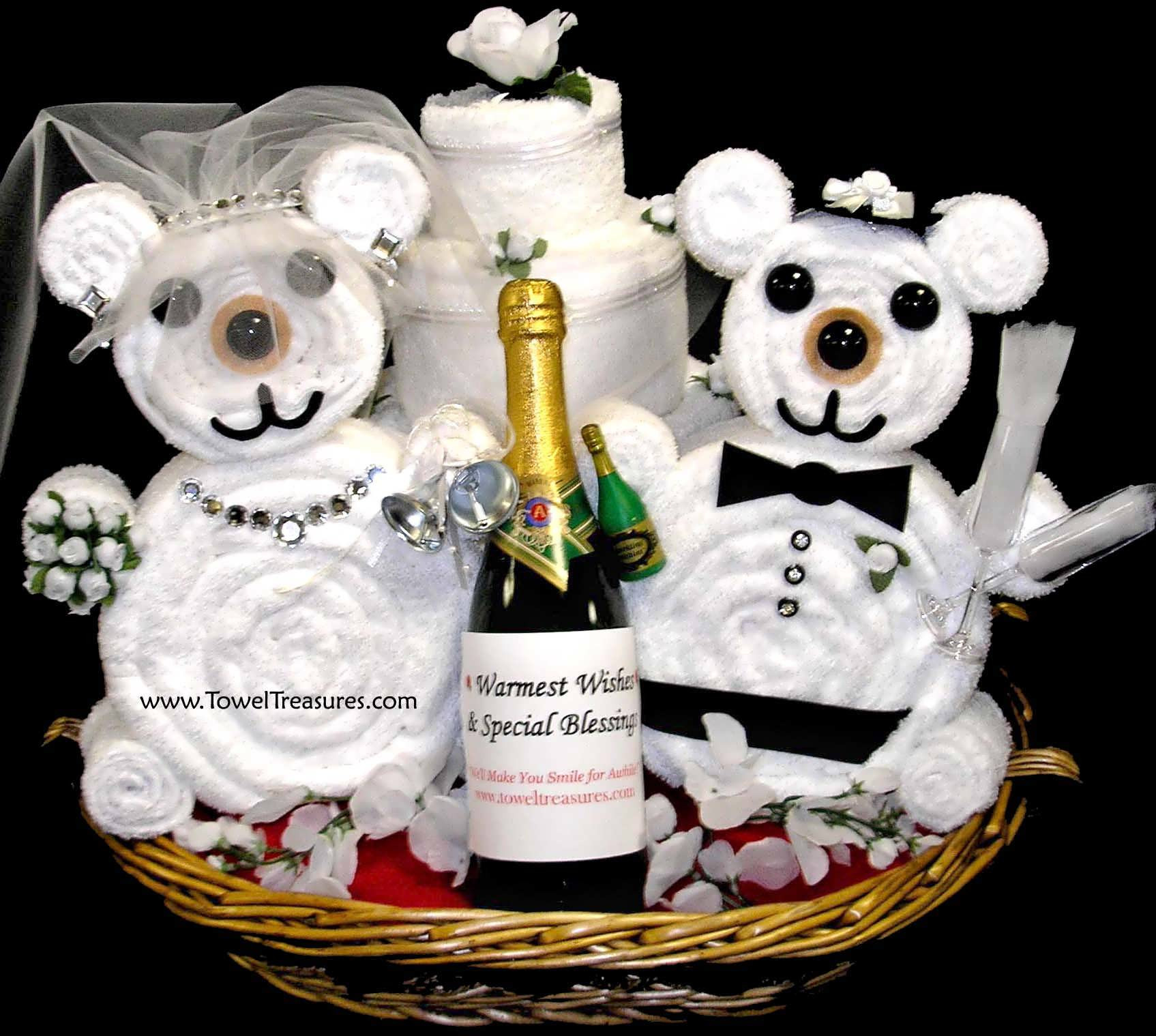 Best ideas about Ideas For Wedding Gift . Save or Pin Bridal Shower Gift Basket With Poem Now.