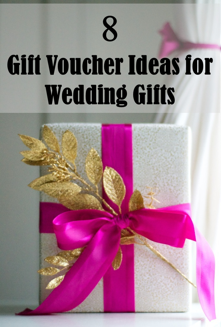 Best ideas about Ideas For Wedding Gift . Save or Pin 8 Gift Voucher Ideas for Wedding Gifts Frugal2Fab Now.
