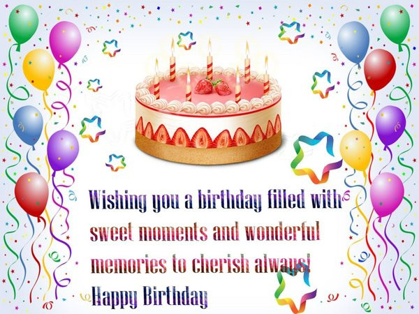 Best ideas about Images Of Birthday Wishes . Save or Pin Top Birthday wishes Greetings Cards and Gifs Now.
