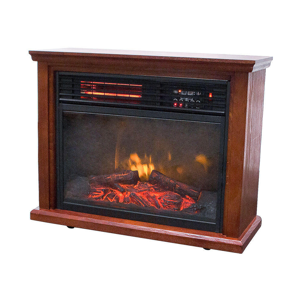 Best ideas about Infrared Fireplace Heater . Save or Pin 1500W Electric Fireplace Firebox Infrared Quartz Heater Now.