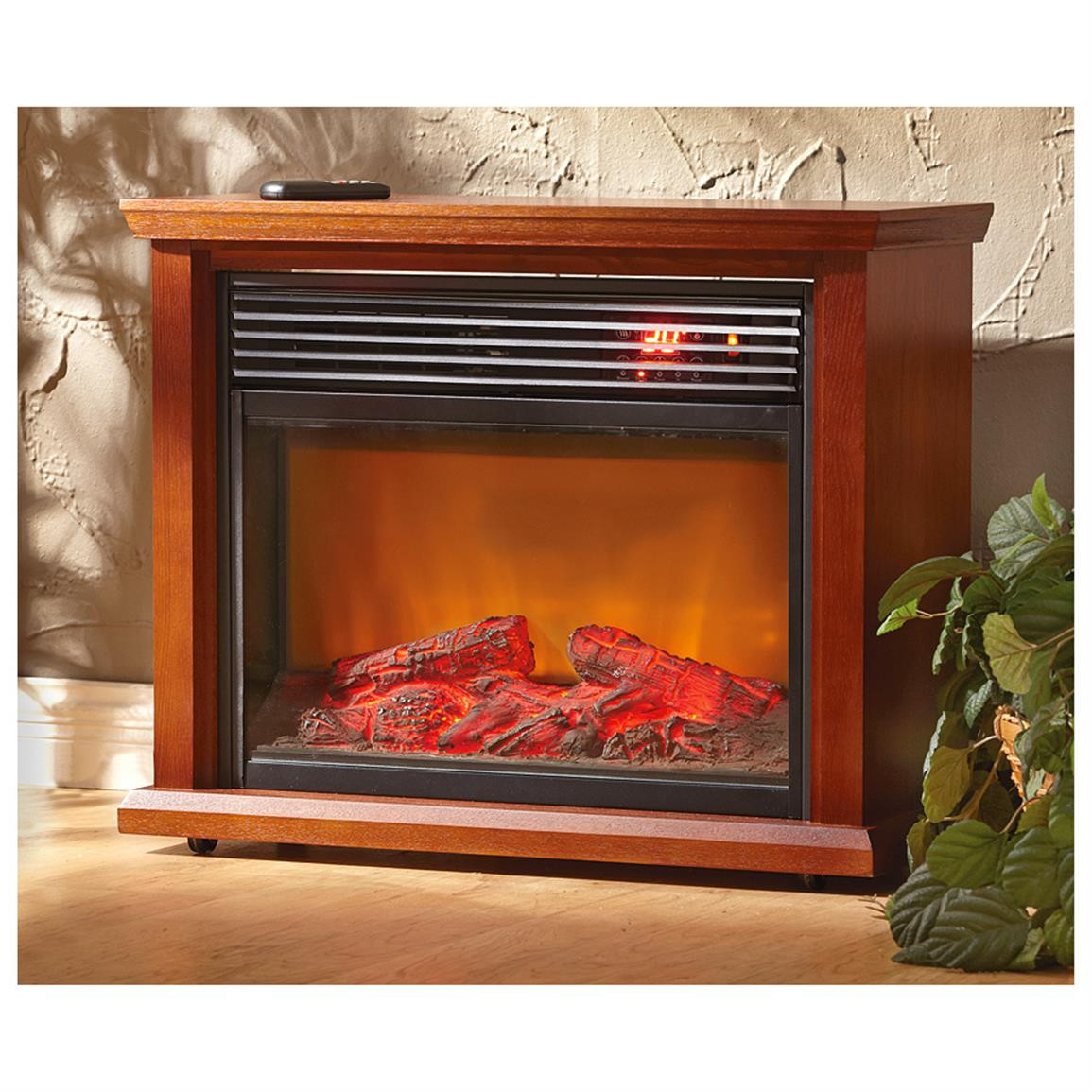 Best ideas about Infrared Fireplace Heater . Save or Pin Infrared Fireplace With Mantel Home Heaters at Now.