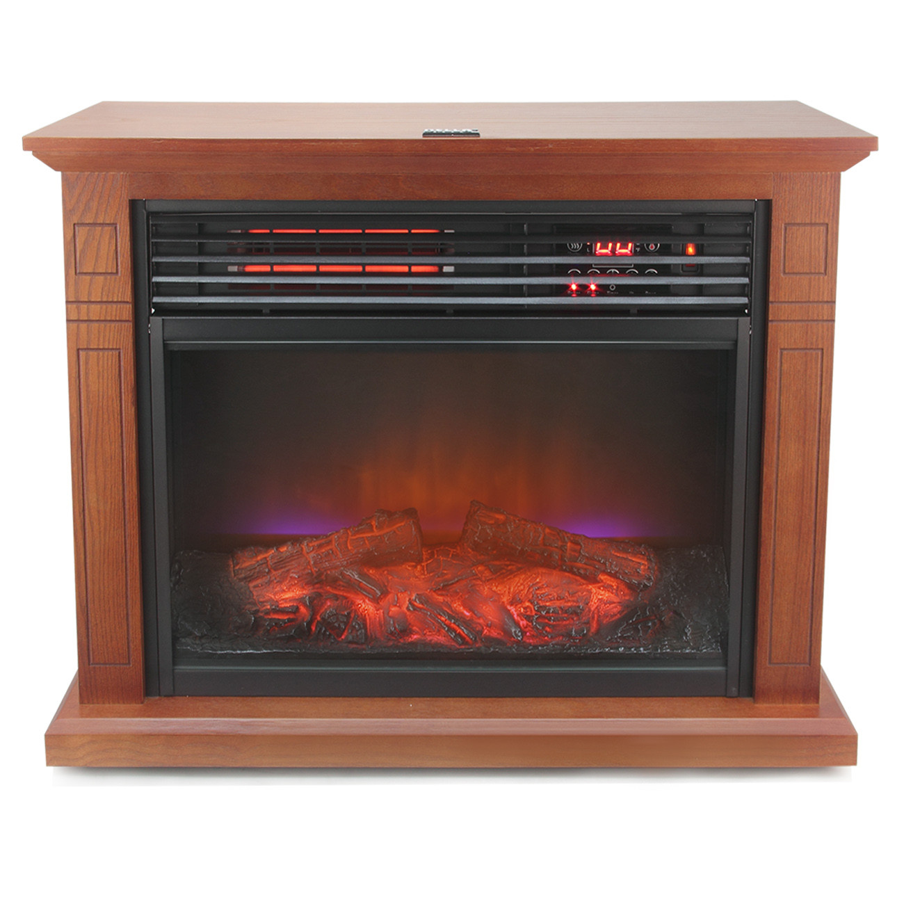 Best ideas about Infrared Fireplace Heater . Save or Pin Infrared Electric pact Fireplace Heater Home Warm Now.