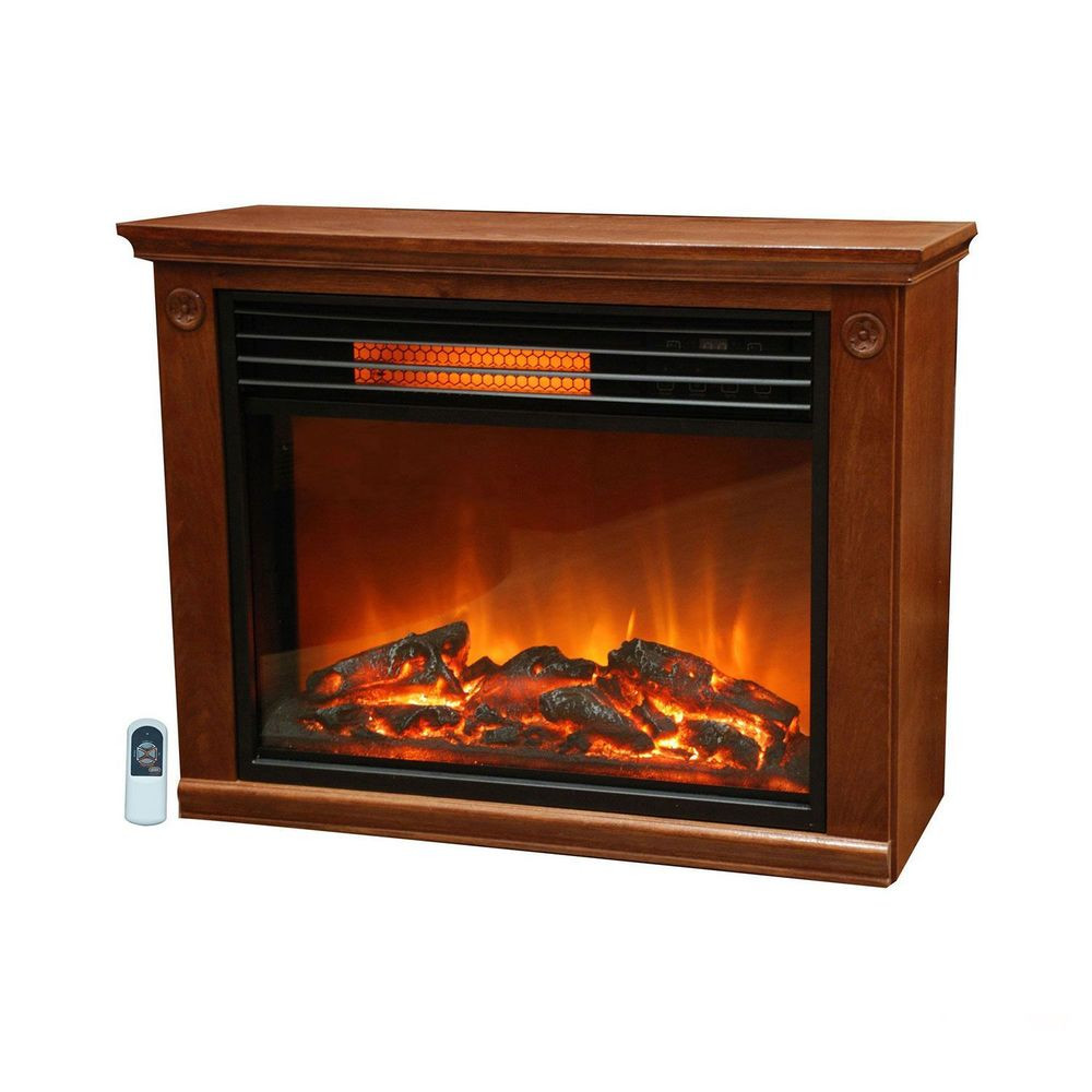 Best ideas about Infrared Fireplace Heater . Save or Pin LifeSmart Lifepro Room Infrared Heater Fireplace Now.
