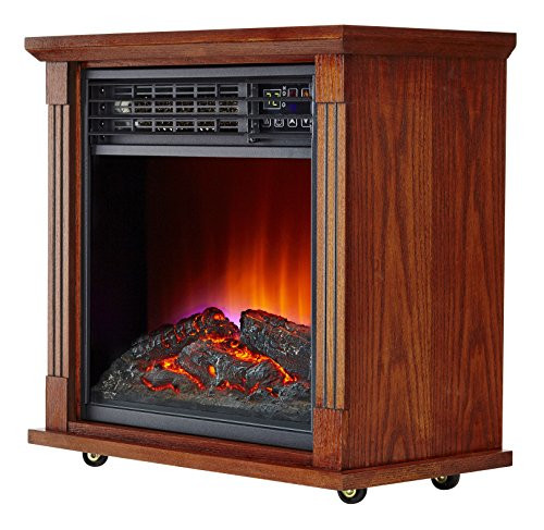 Best ideas about Infrared Fireplace Heater . Save or Pin Haier 5 100 Btu Infrared Electric Fireplace Heater Now.