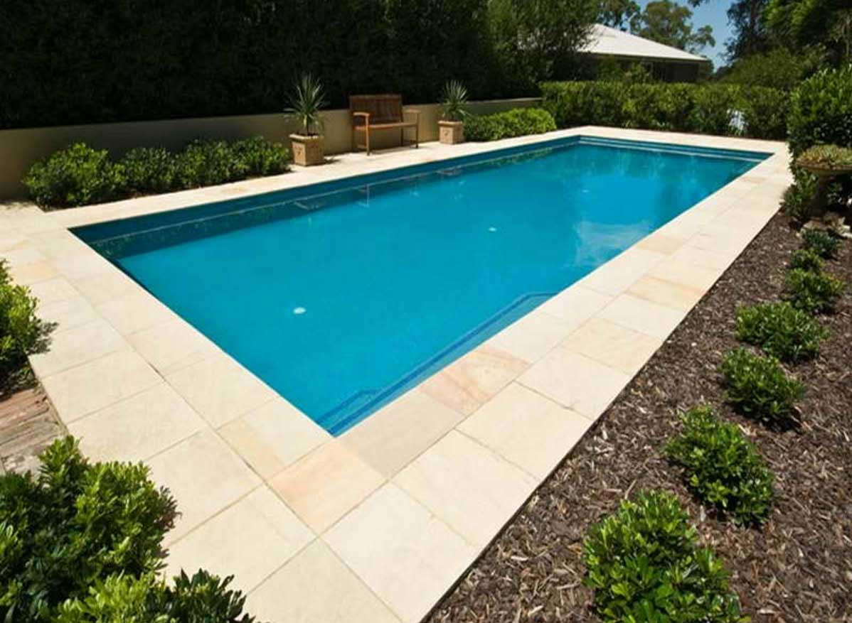Best ideas about Inground Pool Ideas . Save or Pin Inground pool designs for small backyards with regular Now.
