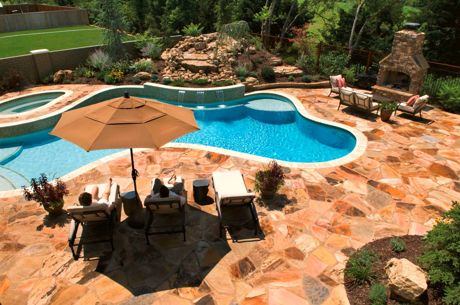 Best ideas about Inground Pool Ideas . Save or Pin Best swimming pool deck ideas Now.