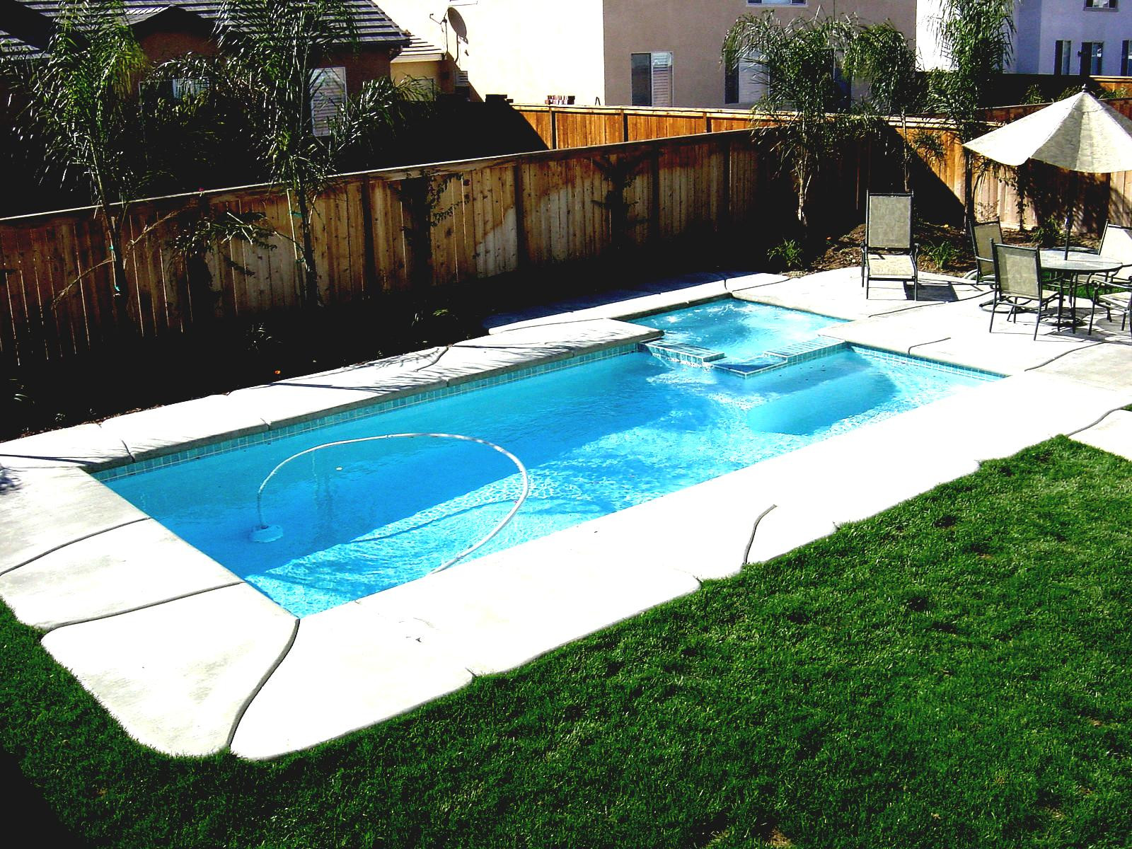 Best ideas about Inground Pool Ideas . Save or Pin Backyard Landscaping Ideas Swimming Pool Design Read More Now.