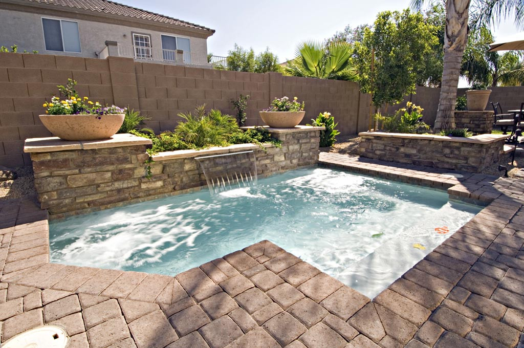 Best ideas about Inground Pool Ideas . Save or Pin Inground Pool For Small Backyard Now.
