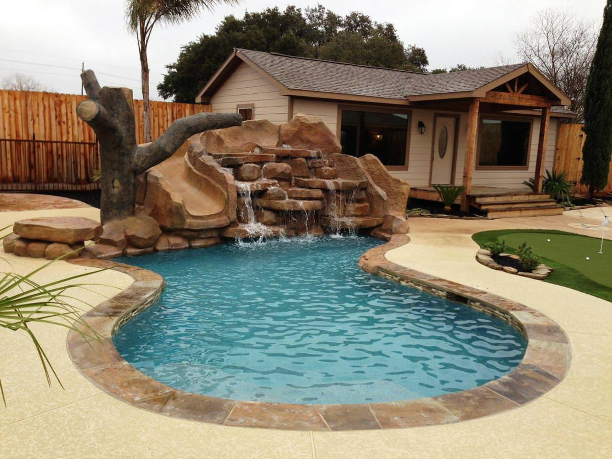 Best ideas about Inground Pool Ideas . Save or Pin Outdoor Best Small Inground Pools For Modern Backyard Now.