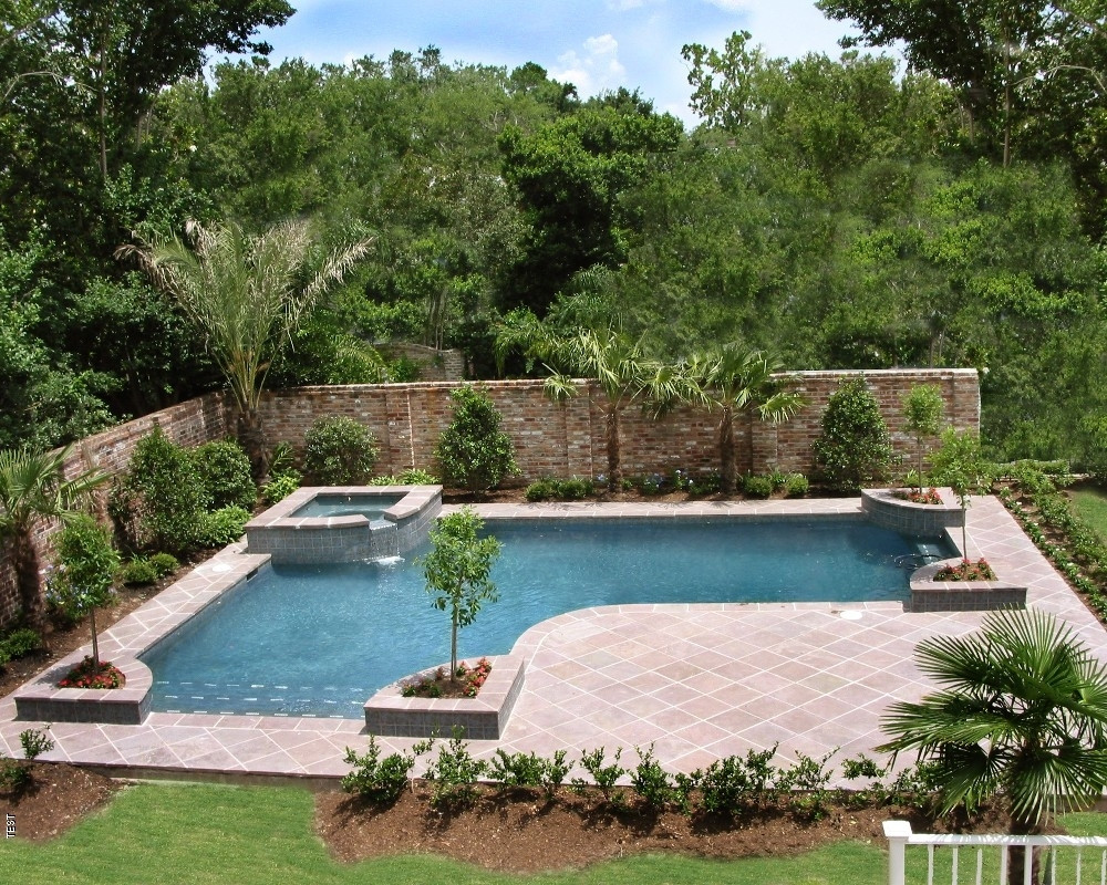 Best ideas about Inground Pool Ideas . Save or Pin Inground Pool Landscaping Ideas — Bistrodre Porch and Now.