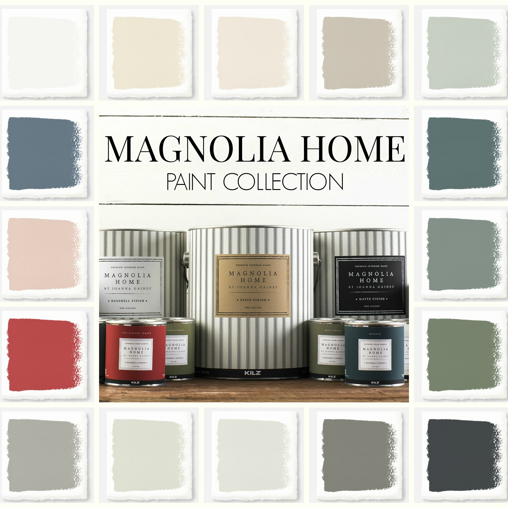Best ideas about Joanna Gaines Favorite Paint Colors . Save or Pin New Magnolia Home Paint Collection Now.