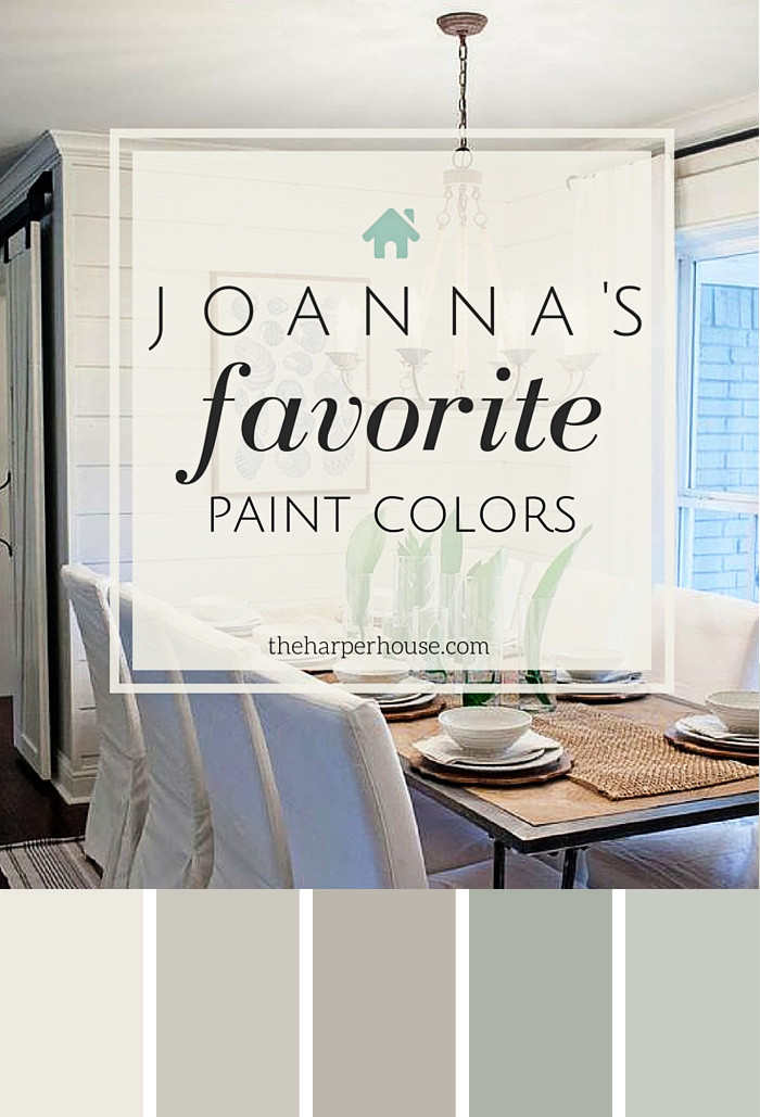 Best ideas about Joanna Gaines Favorite Paint Colors . Save or Pin Fixer Upper Paint Colors Joanna s 5 Favorites Now.