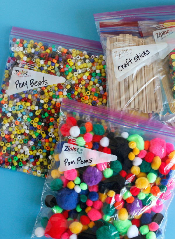 Best ideas about Kids Crafting Supplies . Save or Pin Organizing Kids Craft Supplies Now.