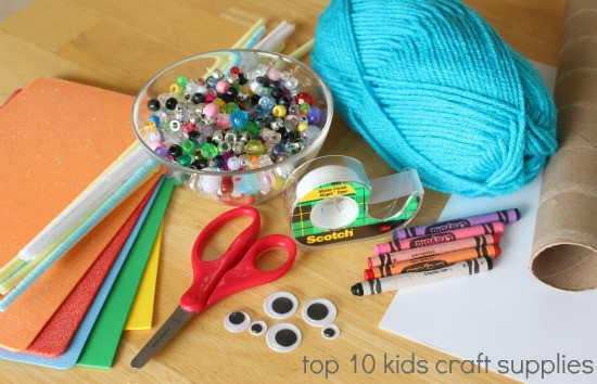 Best ideas about Kids Crafting Supplies . Save or Pin Kids in the Craft Room Basic Craft Supplies Now.