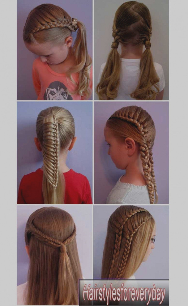 Best ideas about Kids Hairstyles For School . Save or Pin New Cool And Easy Hairstyles Ideas School Hairstyle For Now.