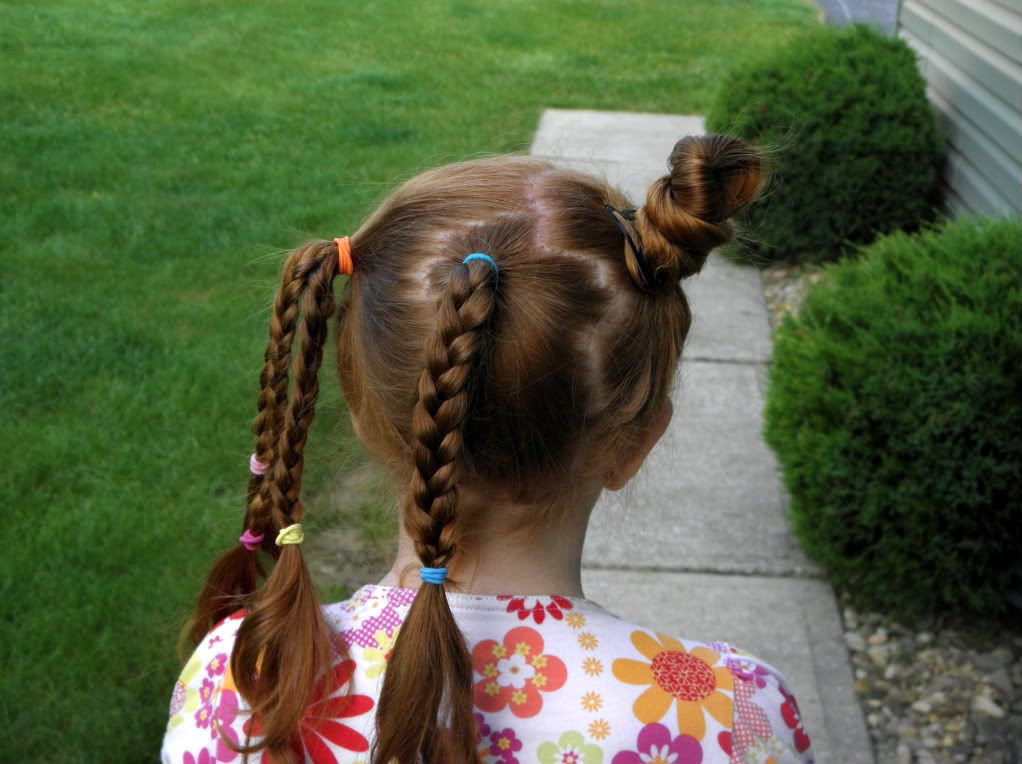 Best ideas about Kids Hairstyles For School . Save or Pin Crazy hair day at school kids corner Now.