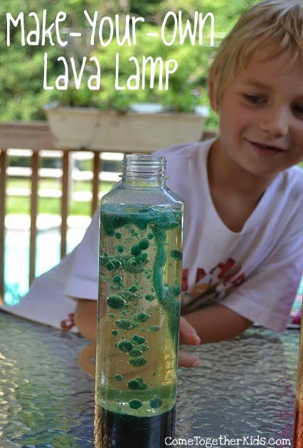 """Best ideas about Kids Make Your Own . Save or Pin e To her Kids Make your own """"Lava"""" Lamp Now."""