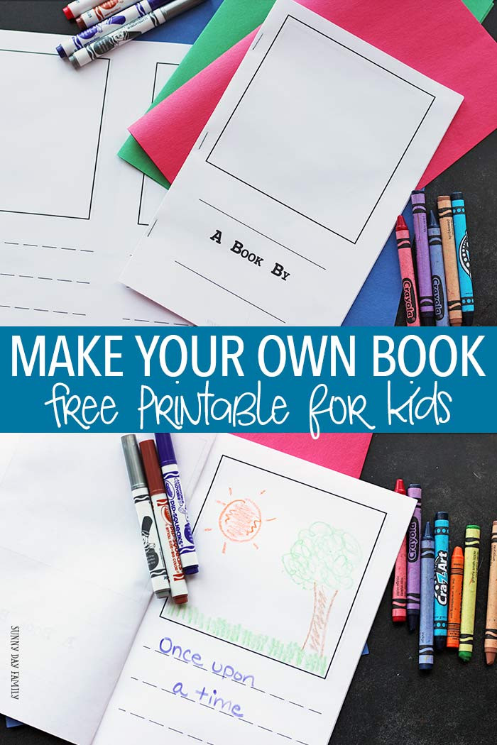 Best ideas about Kids Make Your Own . Save or Pin Make Your Own Book for Kids Free Printable Now.