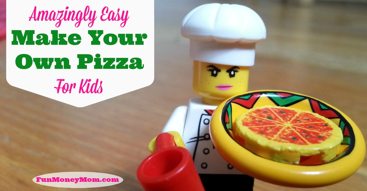 Best ideas about Kids Make Your Own . Save or Pin Amazingly Easy Make Your Own Pizza For Kids Fun Money Mom Now.