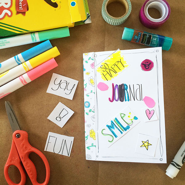 Best ideas about Kids Make Your Own . Save or Pin Kids Craft Make Your Own Journal The Country Chic Cottage Now.