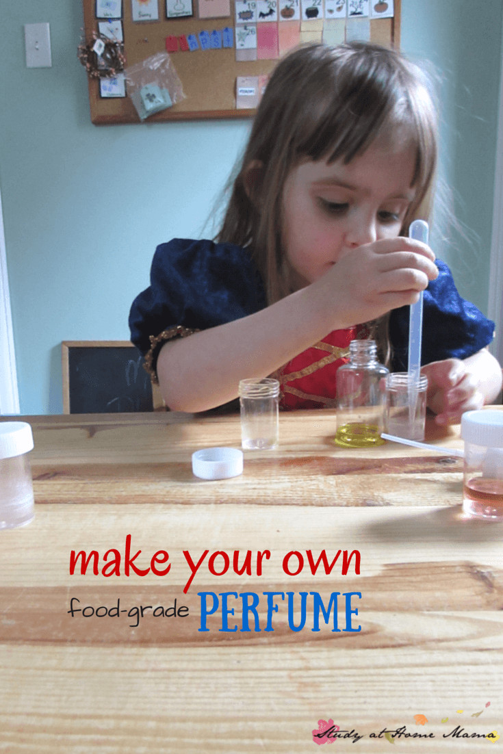 Best ideas about Kids Make Your Own . Save or Pin Make Your Own Perfume Sensory Activity for Kids ⋆ Sugar Now.
