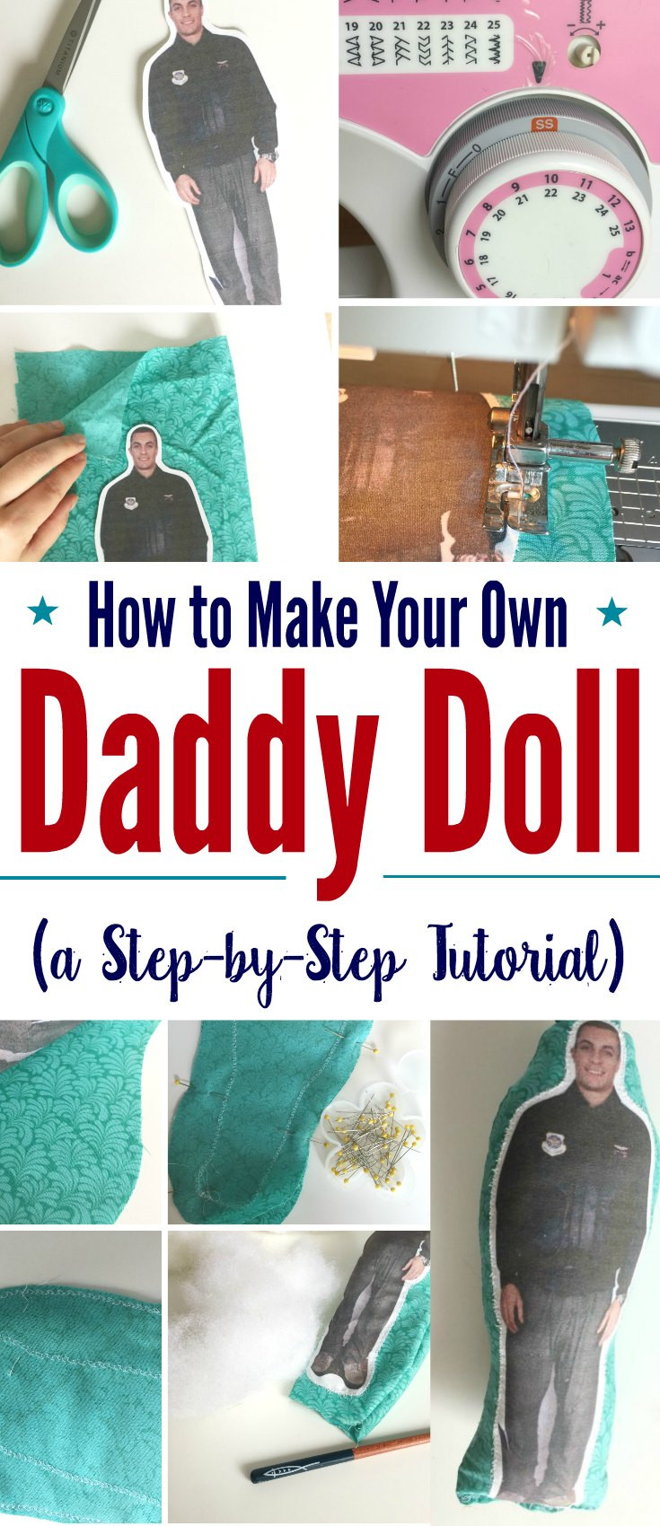 Best ideas about Kids Make Your Own . Save or Pin How to Make Your Own Daddy Doll for Military Kids A Now.