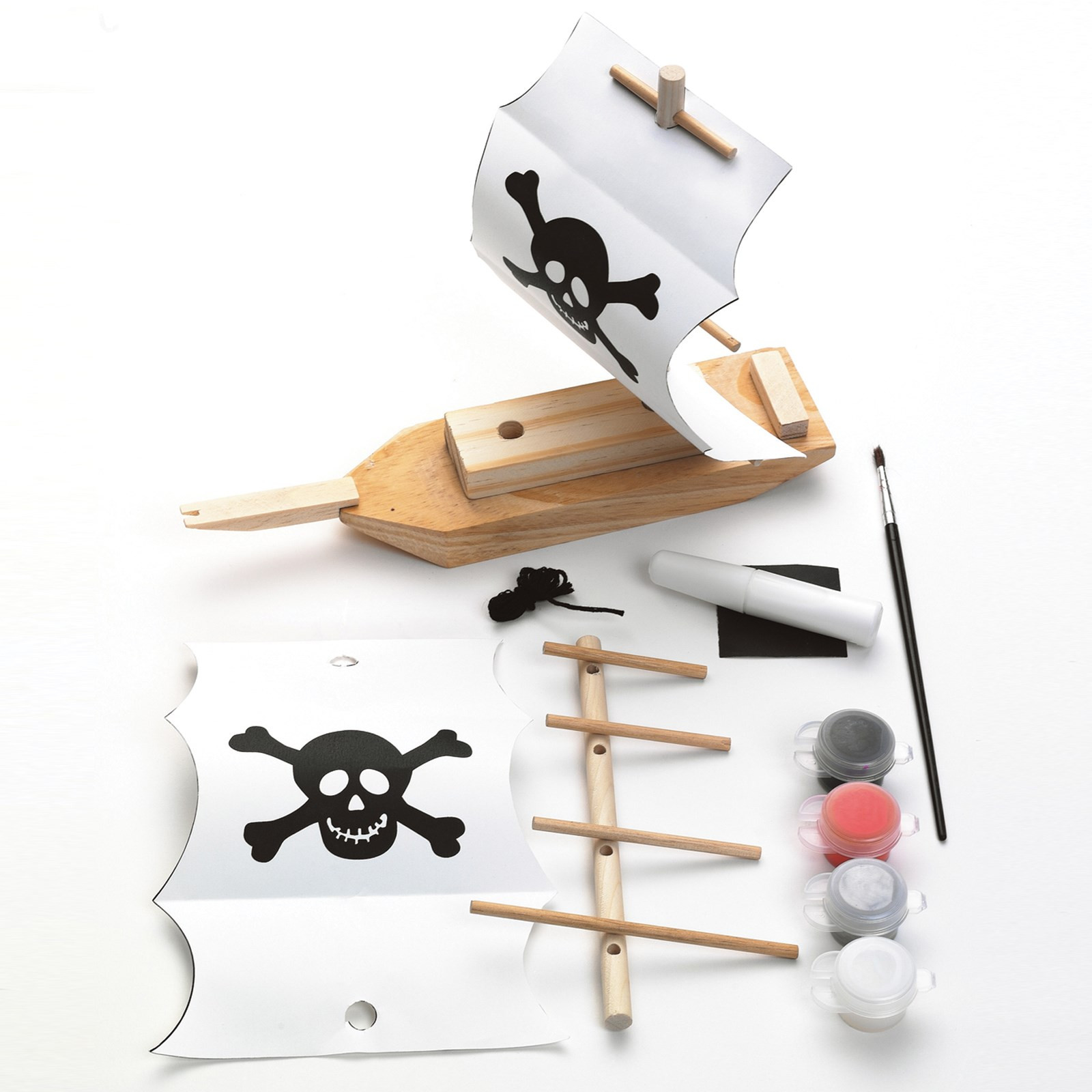 Best ideas about Kids Make Your Own . Save or Pin Creativity for Kids Make Your Own Pirate Ship Activity Now.