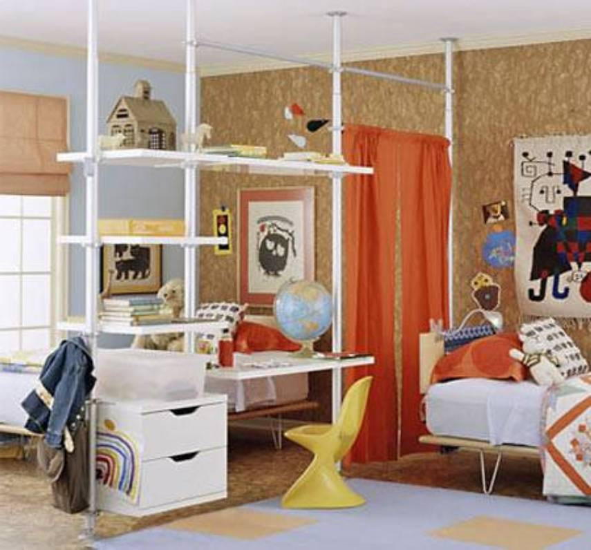 Best ideas about Kids Room Devider . Save or Pin Creative room dividers for kids when you need more space Now.