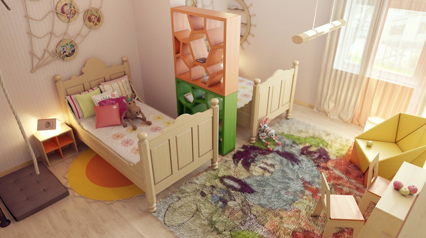 Best ideas about Kids Room Devider . Save or Pin Precious Interior Detailing Now.