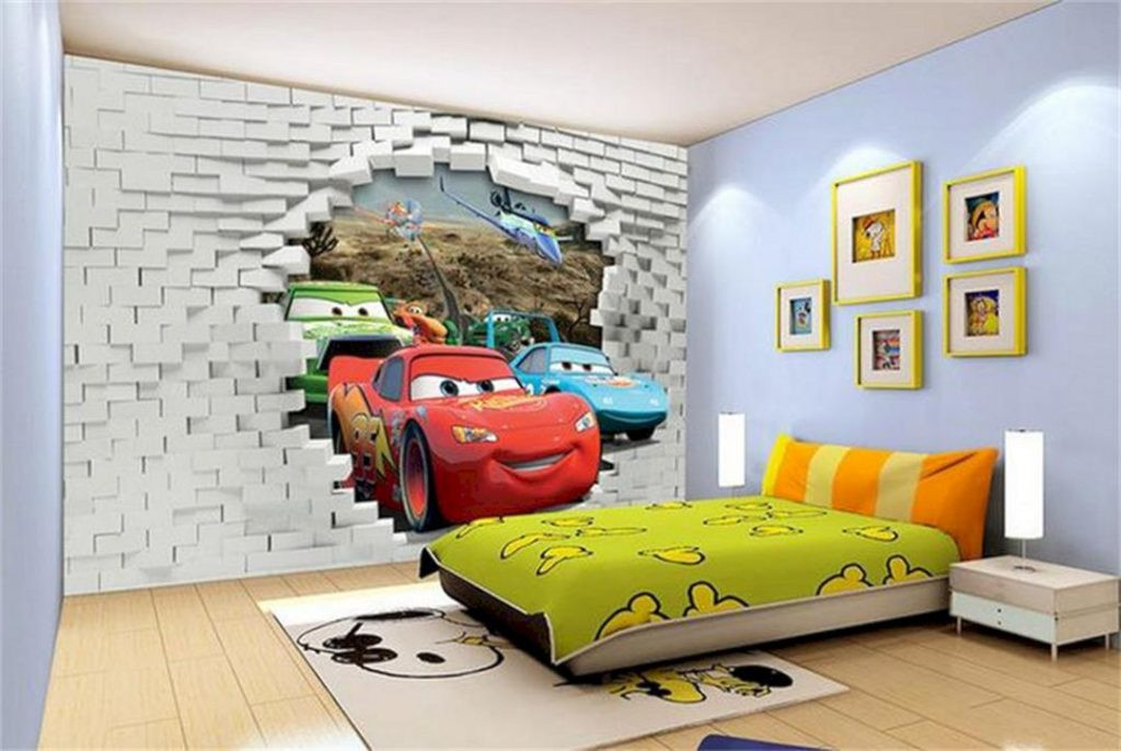 Best ideas about Kids Room Wallpaper . Save or Pin 24 Amazing Kid Rooms Decoration Ideas That Your Kids Will Now.