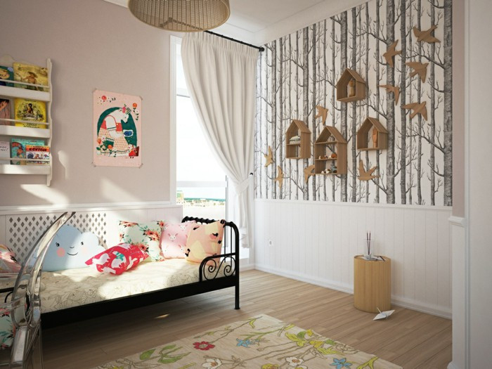 Best ideas about Kids Room Wallpaper . Save or Pin Wallpaper Kids Room – Big And Small In Love With Such Now.