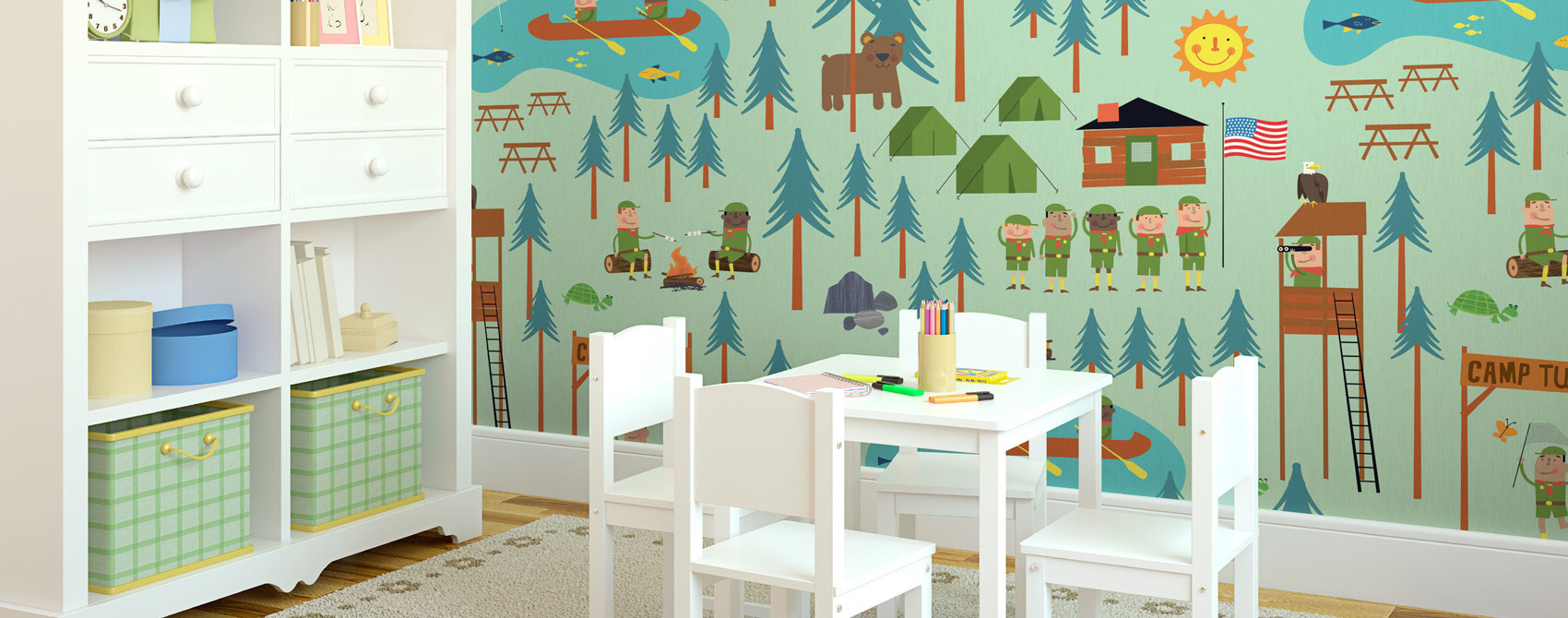 Best ideas about Kids Room Wallpaper . Save or Pin Kids Room Wall Murals & Theme Wallpaper Now.