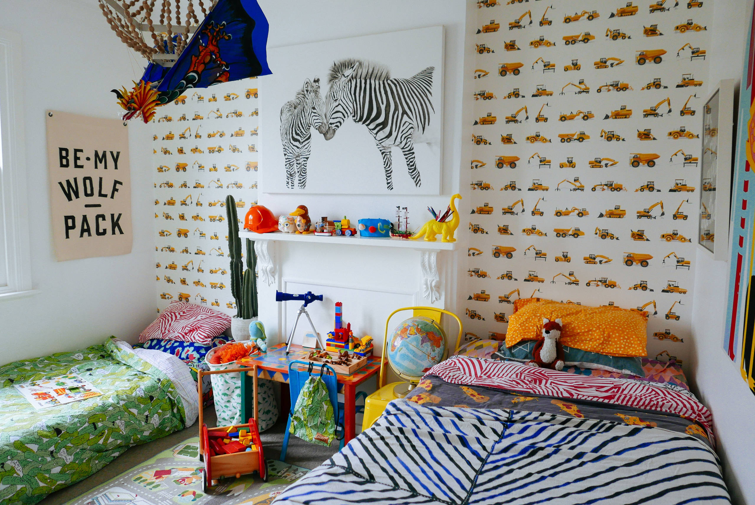 Best ideas about Kids Room Wallpaper . Save or Pin 10 Wallpapers to Treat Your Kid s Bedrooms Now.