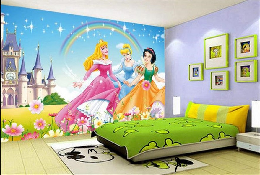 Best ideas about Kids Room Wallpaper . Save or Pin Barbie Wallpaper Kids Room Interior Design Id883 Now.