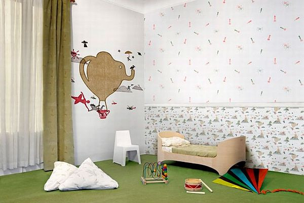 Best ideas about Kids Room Wallpaper . Save or Pin Wallpaper for the Kids Room by Tres Tintas Barcelona Now.