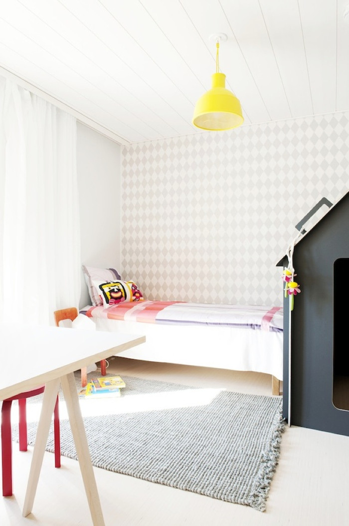 Best ideas about Kids Room Wallpaper . Save or Pin Rafa kids modern wallpaper for kids room Now.