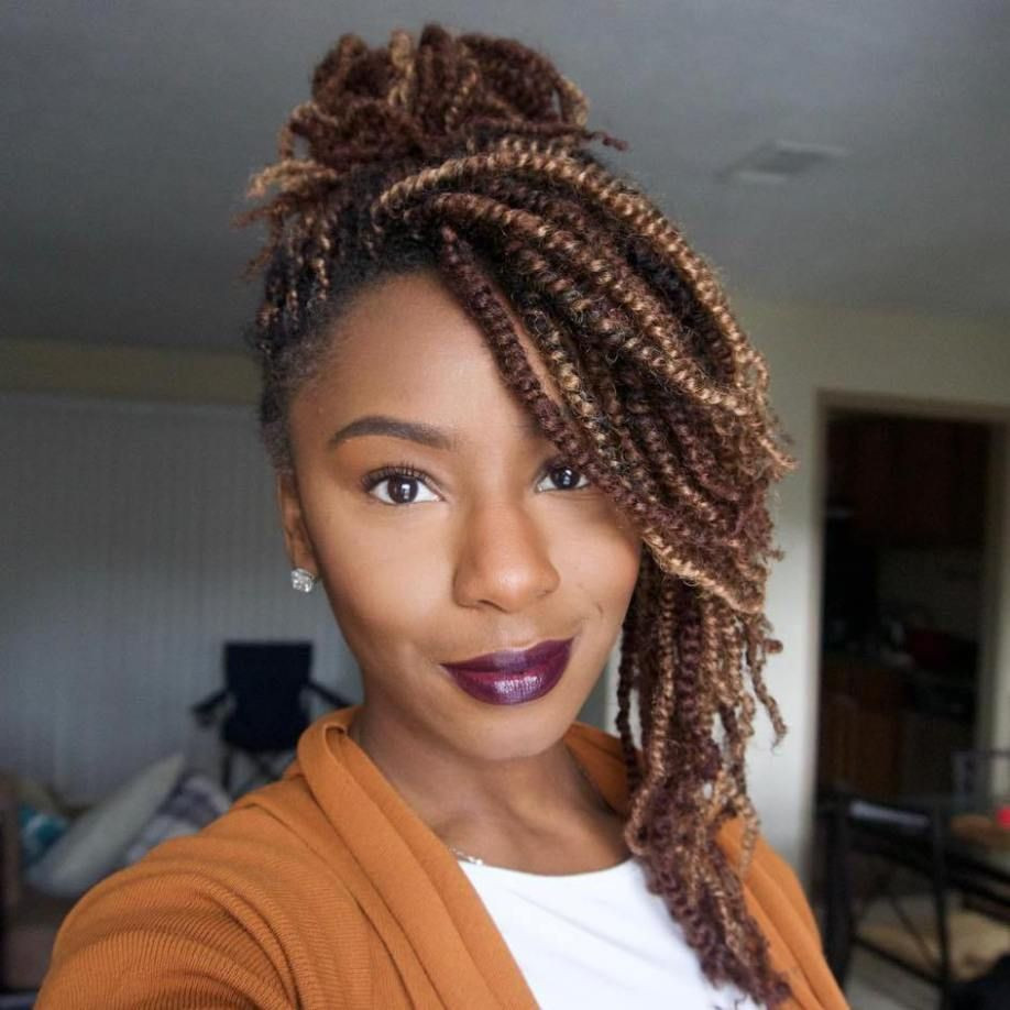 Best ideas about Kinky Braid Hairstyles . Save or Pin 30 Hot Kinky Twists Hairstyles to Try in 2017 Now.