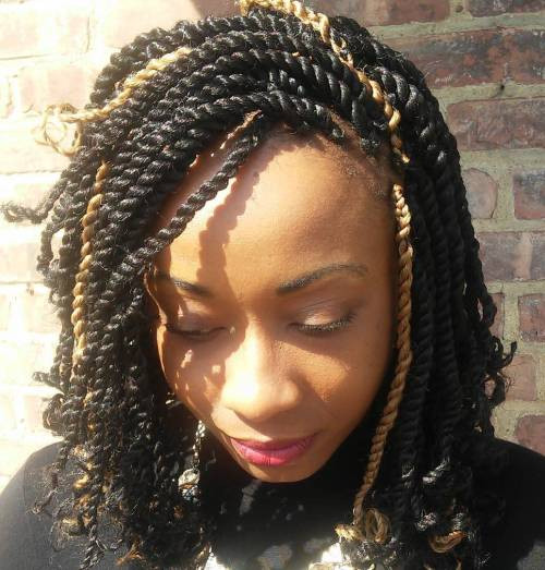 Best ideas about Kinky Braid Hairstyles . Save or Pin 30 Hot Kinky Twist Hairstyles to Try in 2019 Now.