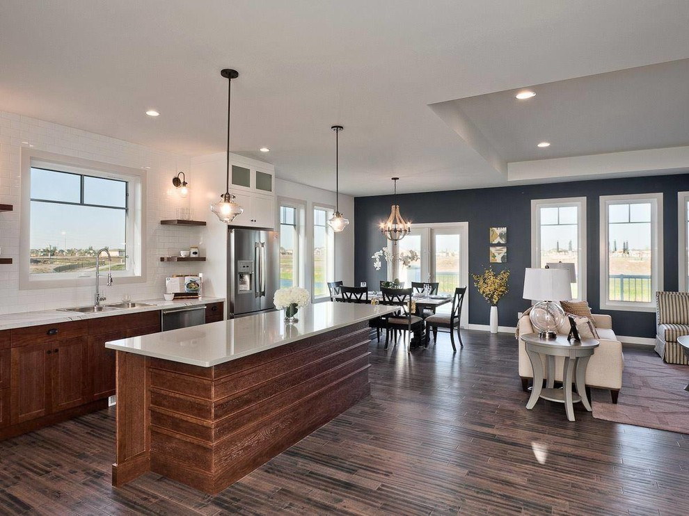 Best ideas about Kitchen Accent Wall . Save or Pin An Affordable Kitchen Revamp Best line Cabinets Now.