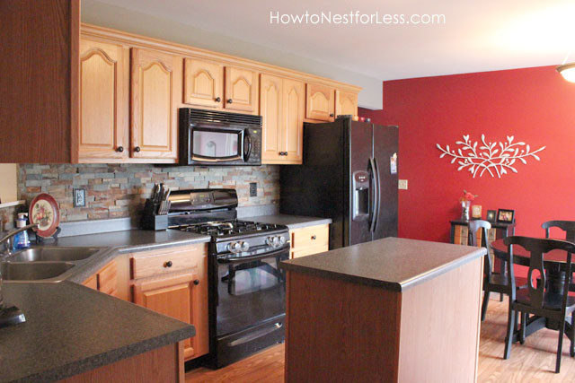 Best ideas about Kitchen Accent Wall . Save or Pin Kitchen Makeover Plan How to Nest for Less™ Now.